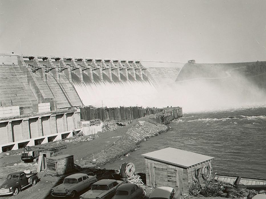 Hartwell Dam December 1961