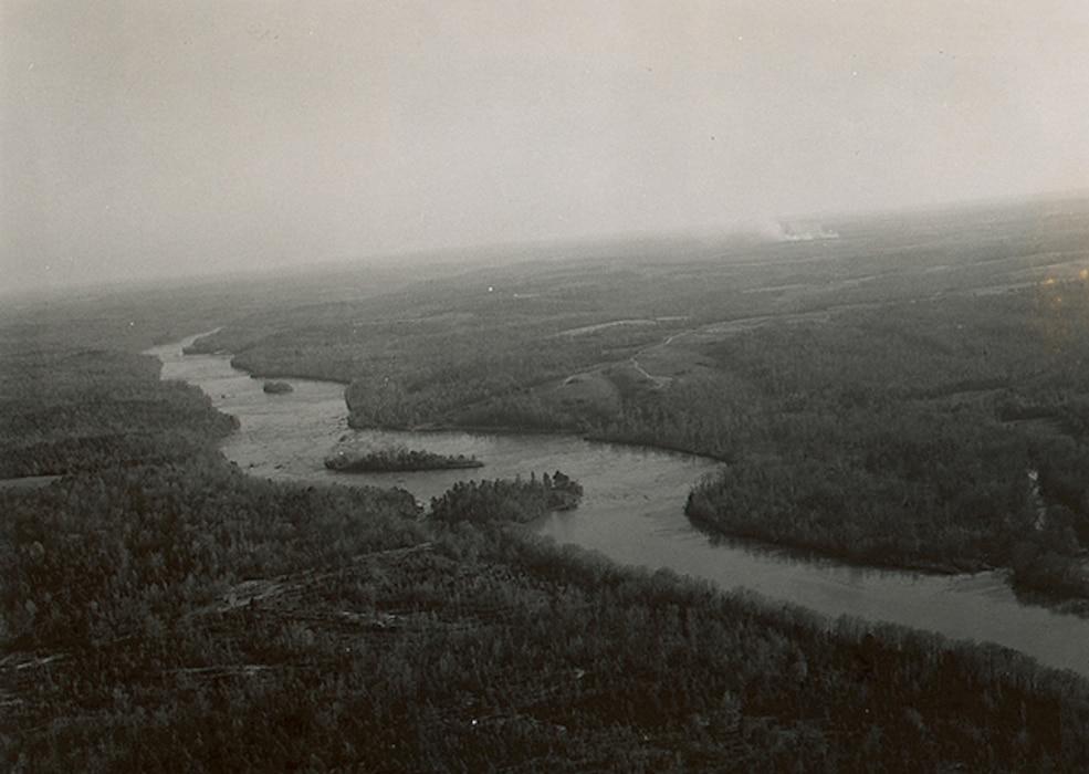 Hartwell Dam November 1955