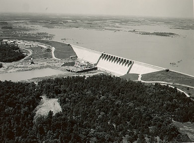 Hartwell Dam May 1961