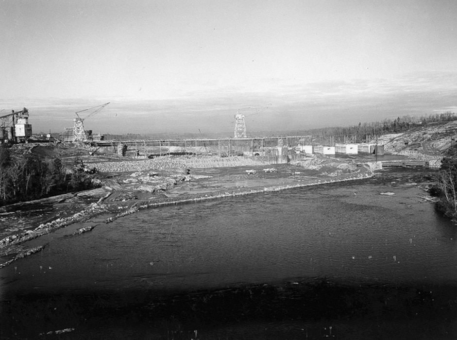 Hartwell Dam January 1959