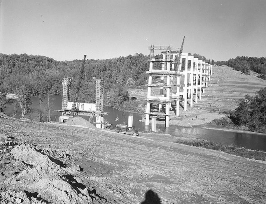 Hartwell Dam November 1959