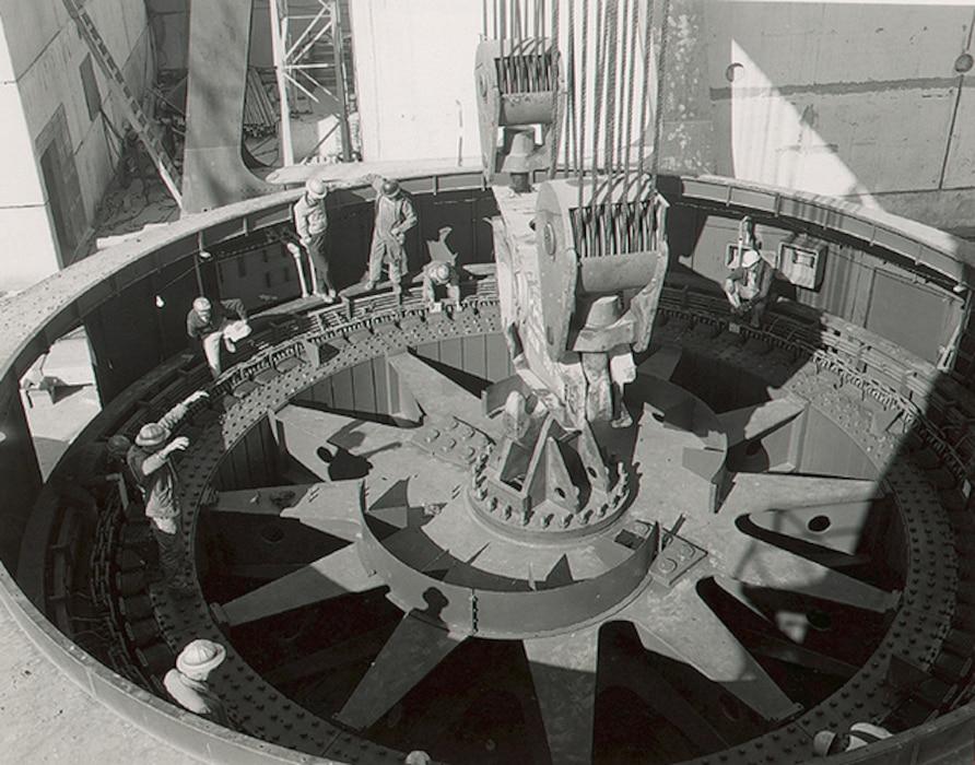 Hartwell Dam November 1961