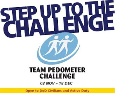 During November and December, Air Force Materiel Command will promote the Team Pedometer Challenge. Team Pedometer Challenge is a command-wide initiative promoting walking for physical activity. TPC's health focus will be exercise and arthritis. Civilian Health Promotion Services will conduct the challenge.