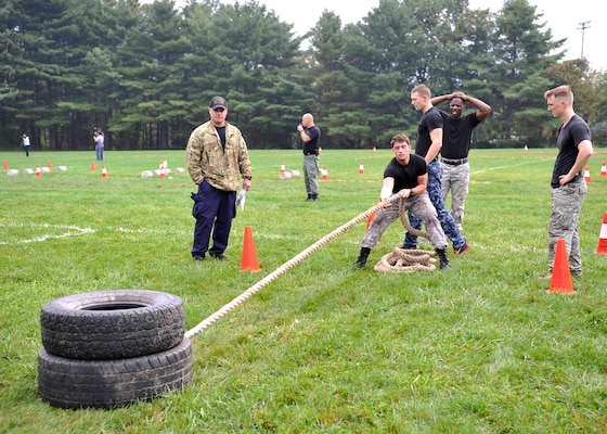 DIA service members participate in the Prince George's County Police Fifth Annual Iron Team Competition where teams of four endure 16 grueling, consecutive events in a timed race.