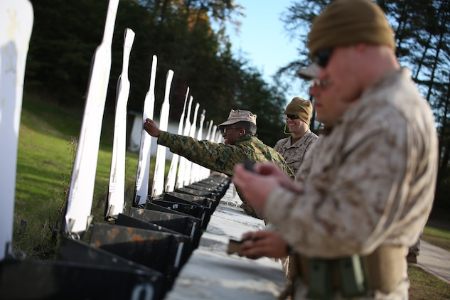 Center Mass: Reserve Marines aim for excellence at Combat