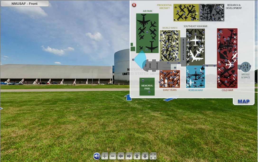 National Museum of the U.S. Air Force Virtual Tour - http://nmusafvirtualtour.com