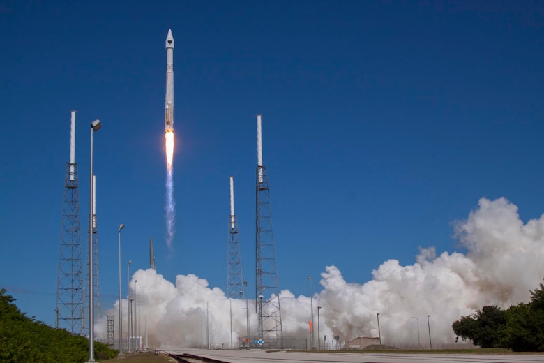 An Atlas V rocket successfully launches the eighth Global GPS IIF-8 satellite, Oct.29 . This is the fourth GPS mission launched this year from Cape Canaveral.  (Photo courtsey of United Launch Alliance)