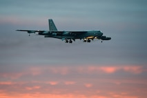 A B-52 Stratofortress from the 2nd Bomb Wing participates in Vigilant Shield 15 Oct. 24, 2014, at 5 Wing Goose Bay, Newfoundland and Labrador, Canada. The Vigilant Shield field training exercise is a bi-national North American Aerospace Defense Command exercise that provides realistic training and practice for American and Canadian forces. NORAD ensures U.S. and Canadian air sovereignty through a network of alert fighters, tankers, airborne early warning aircraft, and ground-based air defense assets cued by interagency and defense surveillance radars. (U.S. Air Force photo/Senior Airman Justin Wright)