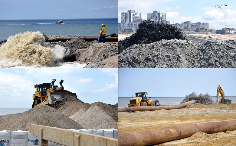 Since Sandy, the Army Corps' New York District has completed various Repair and Restore Coastal Storm Risk Management Projects impacted by Sandy.