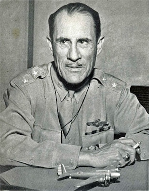 Maj. Gen. Clarence L. Tinker was the first American general to die in World War II. He was the first Native American in U.S. Army history to attain the rank of major general. Tinker Air Force Base, Oklahoma is named in his honor. He was a member of the Osage Nation. (Courtesy Photo)