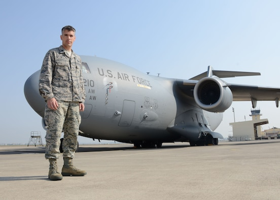 Lt. Col. Geroge Buch is the 728th Air Mobility Squadron commander. Buch took command of the 728th AMS June 16, 2014, Incirlik Air Base, Turkey. (U.S. Air Force photo by Staff Sgt. Veronica Pierce/Released)