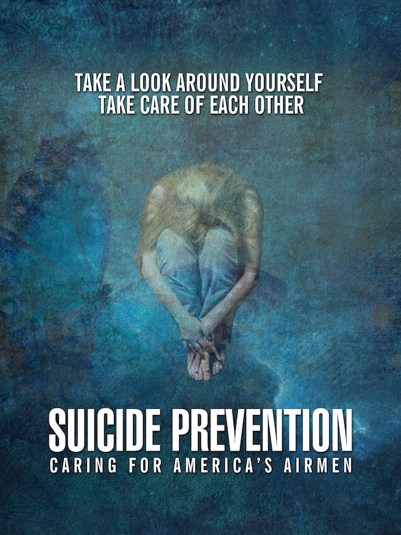 Suicide Prevention Graphic (U.S. Air Force Graphic by Naoko Shimoji/Released)