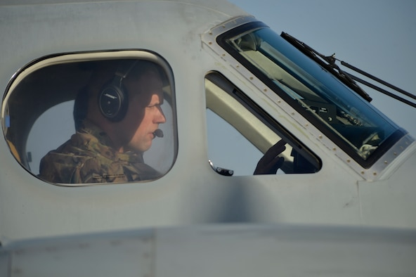 A pilot with the 361st Expeditionary Reconnaissance Squadron prepares for takeoff Aug. 20, 2014, at Kandahar Airfield, Afghanistan. The squadron reached its end of mission in September after four years of operations in Afghanistan. During their tenure, the unit executed more than 25,000 air tasking order sorties, achieved 115,000 combat flight hours and helped eliminate 450 insurgents from the battle space. (U.S. Air Force photo/Staff Sgt. Evelyn Chavez)
