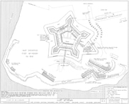 Map Showing Fort McHenry in 1814
