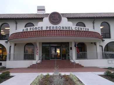 The U.S. Air Force Personnel Center at Joint Base San Antonio-Randolph in Texas has been restored to its historic look. The Facilities Repair and Renewal Project was the first comprehensive renovation of the building since it was built in the 1930s.