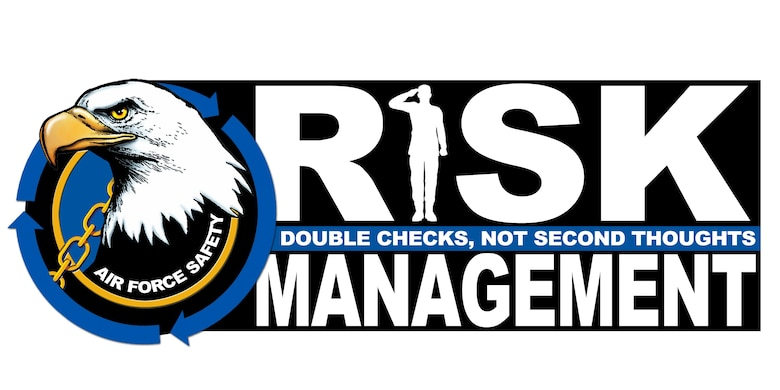 Risk Management Campaign logo. (Air Force graphic by Keith Wright)