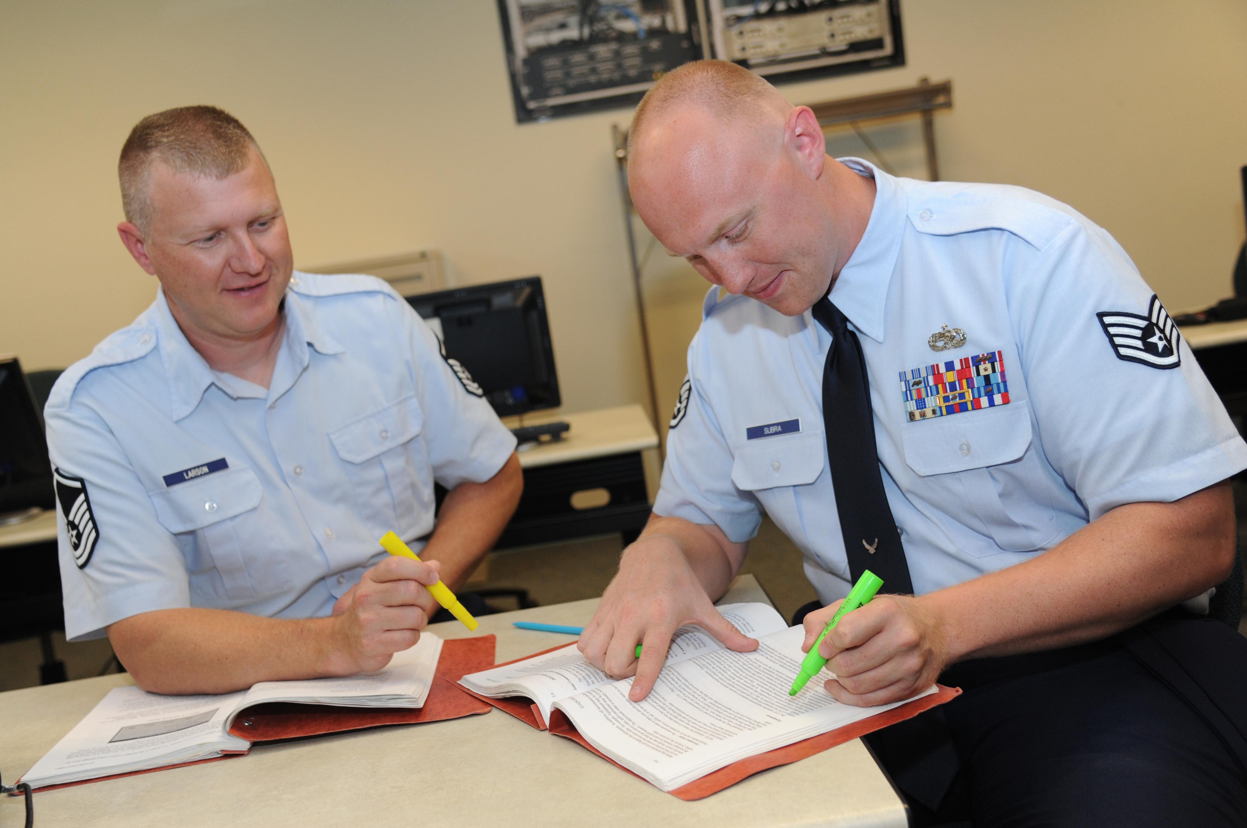 Airmen earn perfect scores