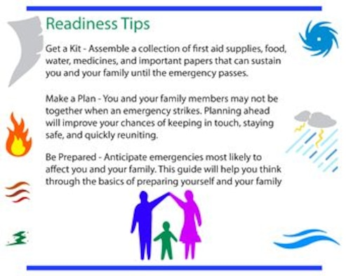 Emergency Action Plan Flow Chart: National Preparedness Month: Be Ready e Davis-Monthan Air Force ,Chart