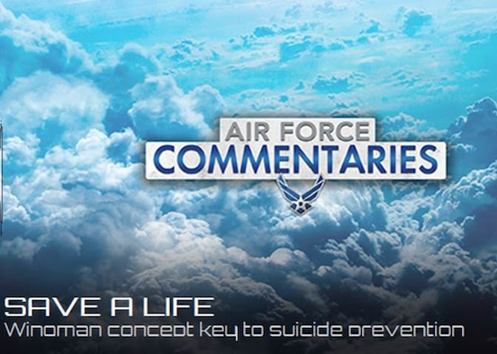 September 8th through the 14th is National Suicide Prevention Week. However, many people are hesitant to get involved in the discussion on the topic of suicide prevention. (U.S. Air Force Graphic)