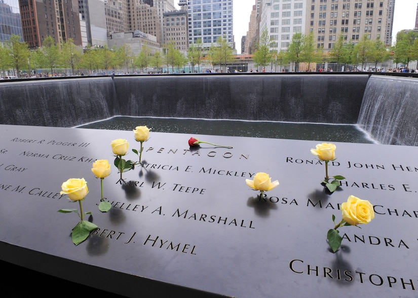 The names of DIA's fallen employees are together on the 9/11 Memorial in New York City, which was dedicated earlier this year.