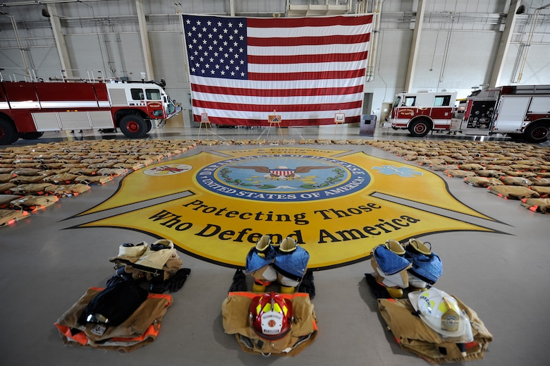 Dod Fire Academy Pays Respect To The Fallen Firefighters Of 911