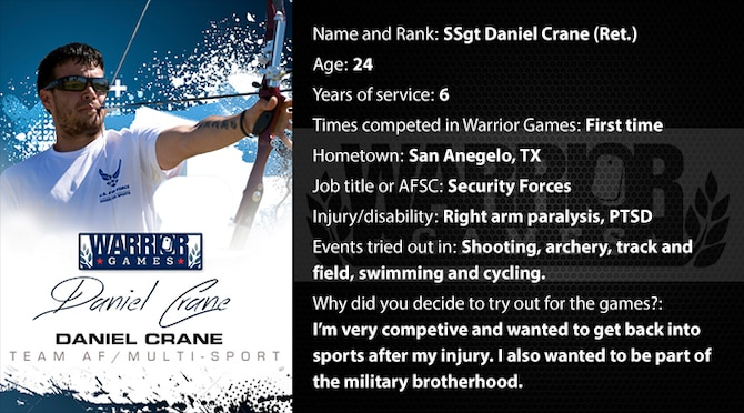 Warrior Profile -  SSgt Daniel Crane (Ret.) (U.S. Air Force graphic/Corey Parrish)