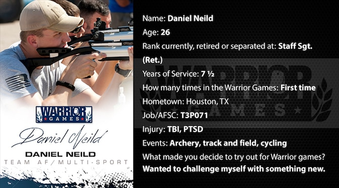 Warrior Profile -  Daniel Neild (U.S. Air Force graphic/Corey Parrish)