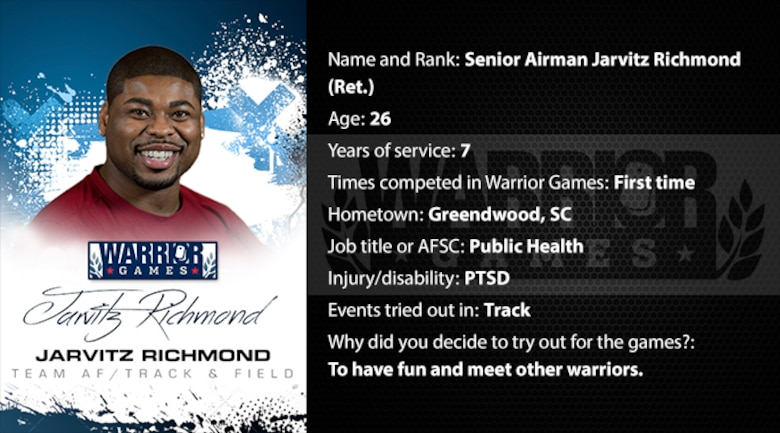 Warrior Profile -  SrA Jarvitz Richmond (U.S. Air Force graphic/Corey Parrish)