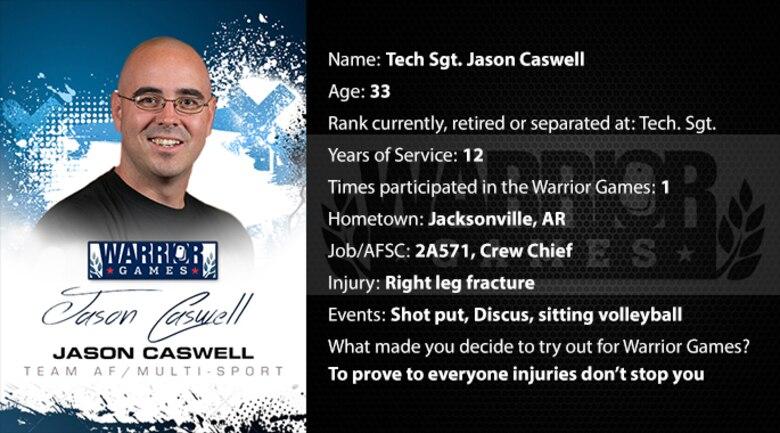 Warrior Profile -  TSgt Jason Caswell (U.S. Air Force graphic/Corey Parrish)