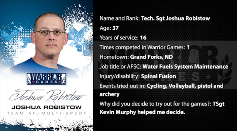 Warrior Profile -  TSgt Joshua Robistow (U.S. Air Force graphic/Corey Parrish)