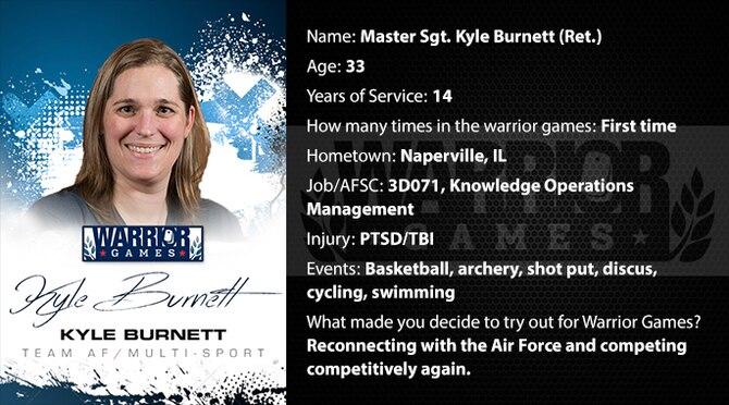 Warrior Profile -  MSgt Kyle Burnett (Ret.) (U.S. Air Force graphic/Corey Parrish)