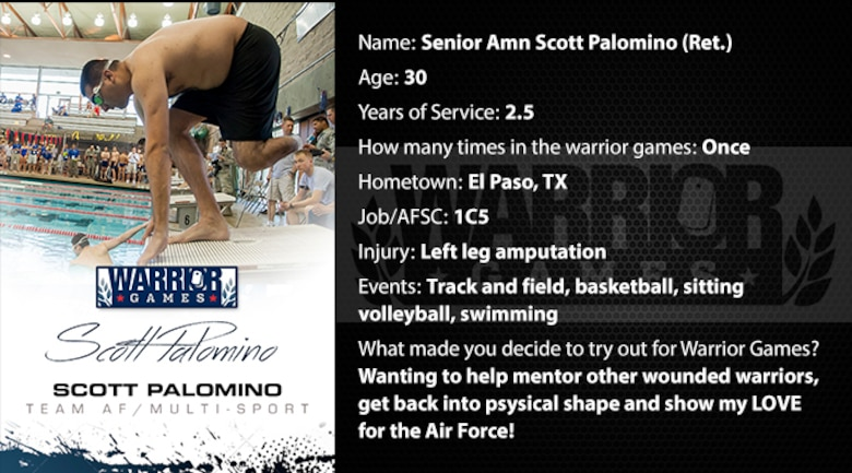 Warrior Profile -  SrA Scott Palomino (Ret.) (U.S. Air Force graphic/Corey Parrish)