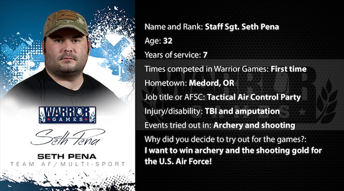 Warrior Profile -  SSgt Seth Pena (U.S. Air Force graphic/Corey Parrish)