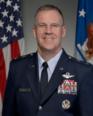 Official Photo-   Major General Lawrence M. Martin Jr. (U.S. Air Force Photo by Michael J Pausic)