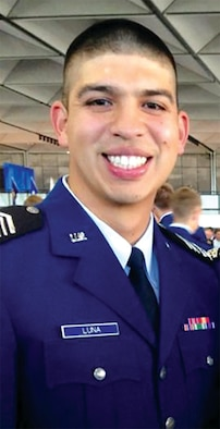 Cadet 2nd Class Steven Luna (U.S. Air Force photo)