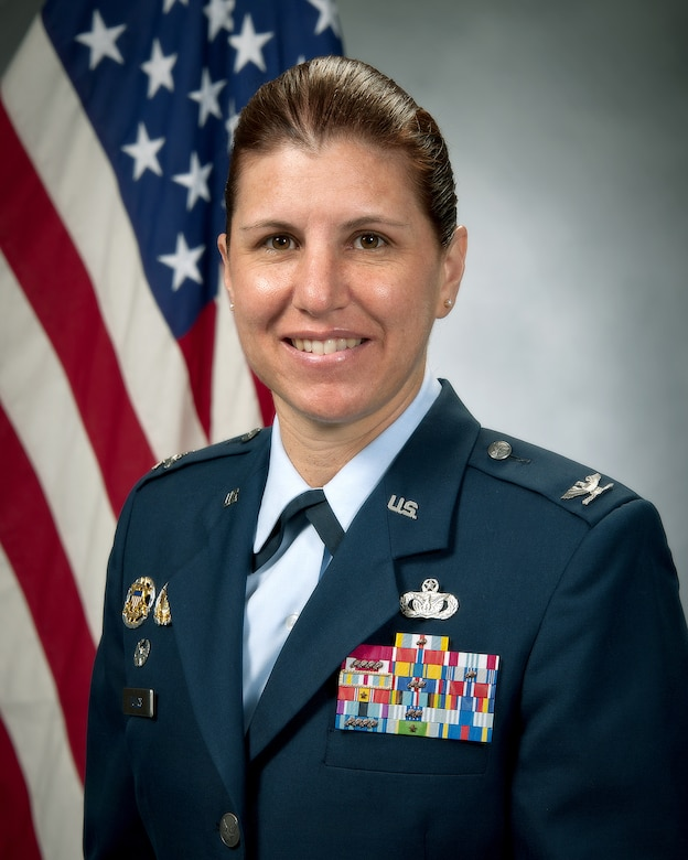 42nd Air Base Wing Commmander, Col. Andrea Tullos