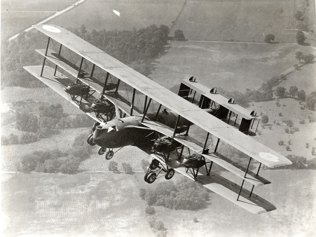 Witteman-Lewis XNBL-1 Barling Bomber. (U.S. Air Force photo)