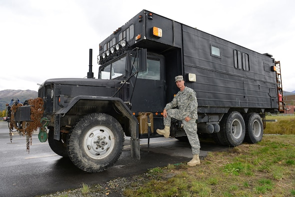Army Mechanic Builds Monster Rv On Military Surplus