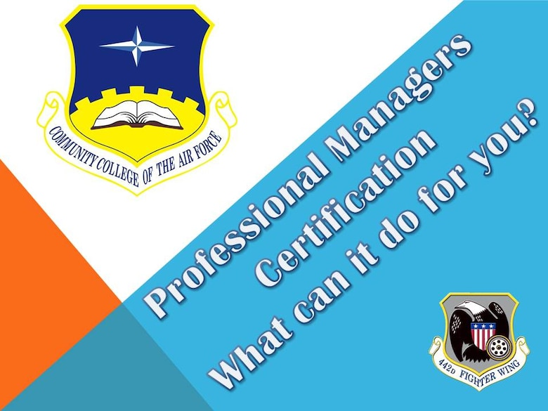 CCAF Credentialing and Certification > 442d Fighter Wing > Article ...