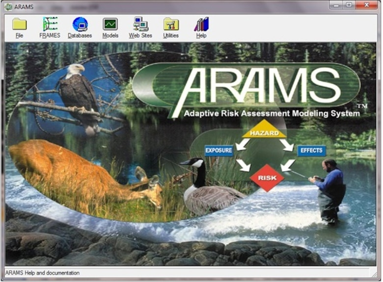 The Main graphical user interface of ARAMS.