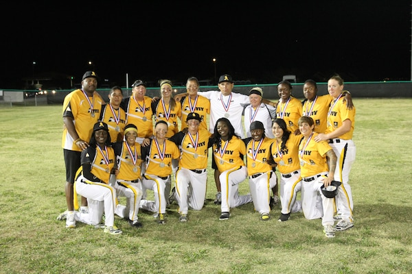 The 2014 Armed Forces Women's Softball silver medalist - All Army