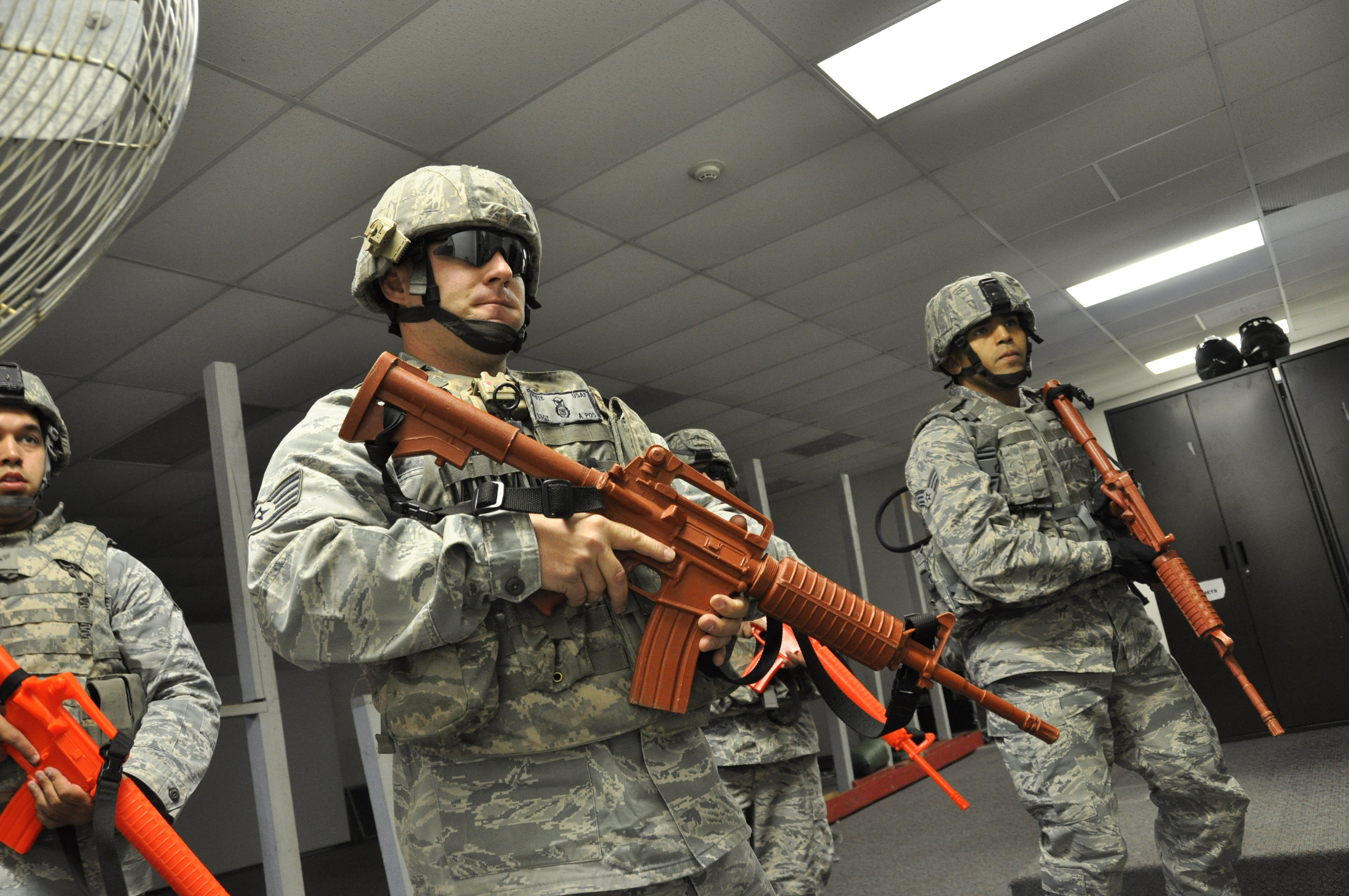 whiteman reservists conduct combined response exercise > air force hi res photo details