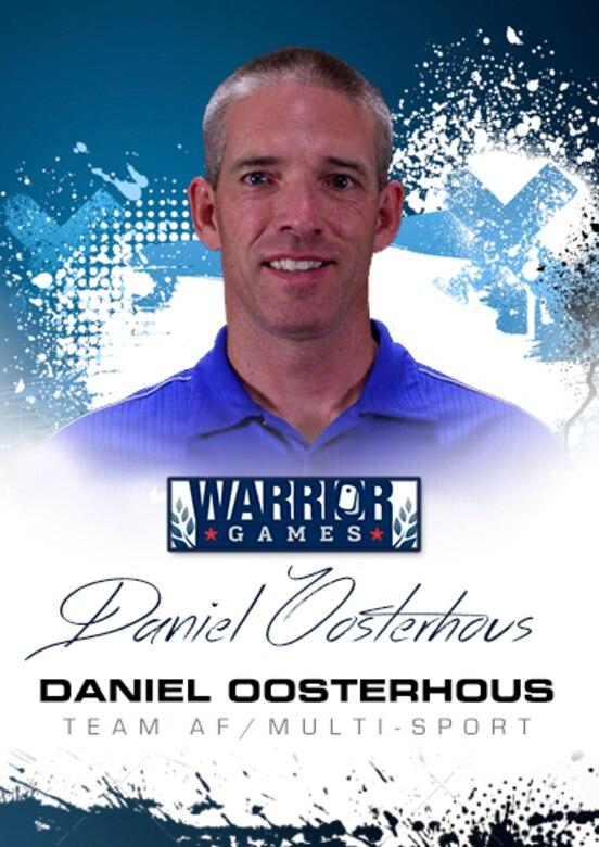 Warrior Profile - Daniel Oosterhous (U.S. Air Force graphic/Corey Parrish)