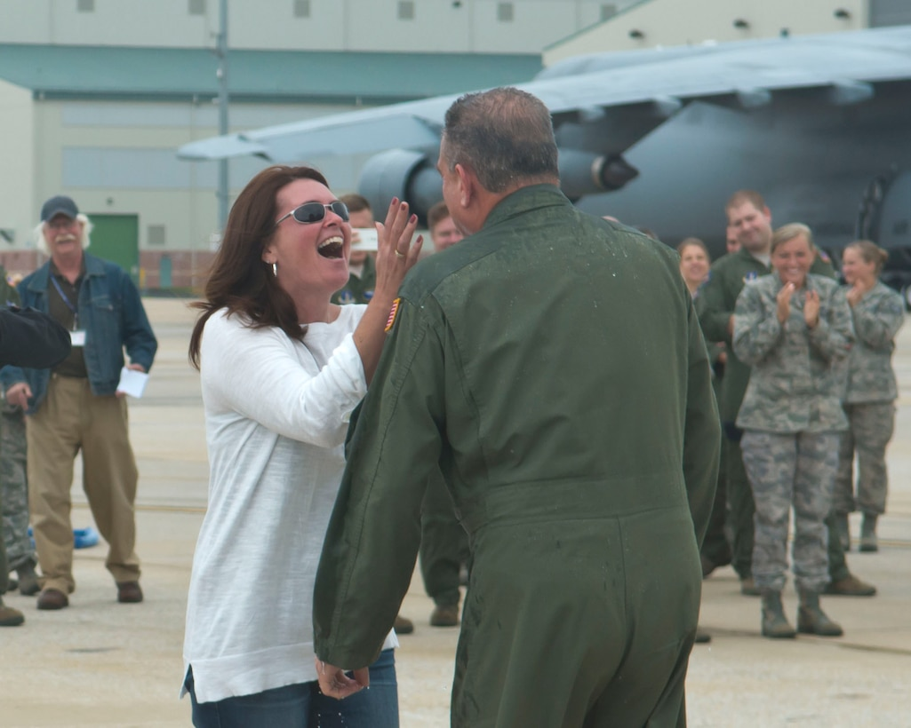 MARTINSBURG, W.Va.-- The first C-17 Globemaster III arrived at the 167th Airlift Wing in Martinsburg, W. Va. on September 25th, 2014.  The wing has flown the C-5 Galaxy since 2007 and will begin C-17 flying operations in January 2015. The last C-5 unit in the Air National Guard, the 167th began the conversion process in July and will maintain a fleet of eight C-17s. (U.S. Air National Guard photo by Tech. Sgt. Michael Dickson/Released)