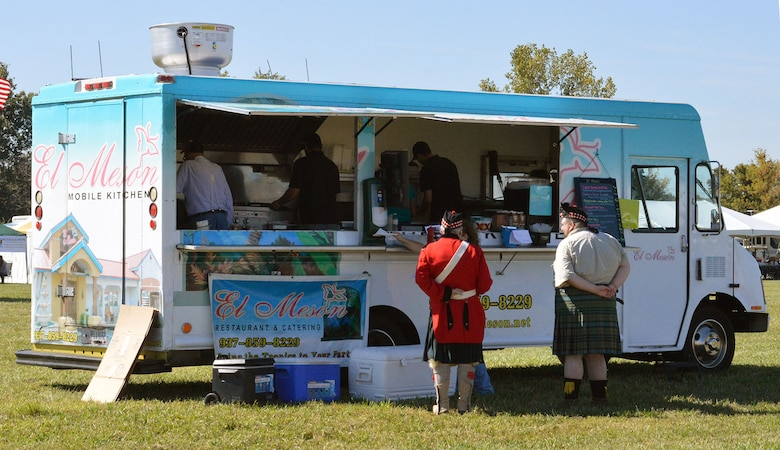 DAYTON, Ohio -- Food trucks will be a new feature at the Ninth WWI Dawn Patrol Rendezvous on Sept. 27-28, 2014. On Saturday, food trucks will be available from El Meson, Hunger Paynes and Lilia's Outside Café. El Meson and Lilia's Outside Café will return on Sunday. (U.S. Air Force photo)