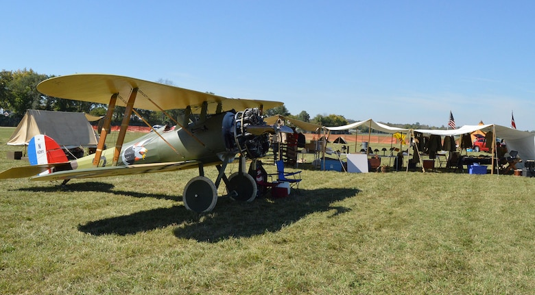 DAYTON, Ohio -- An additional 12 full-scale and 7/8-scale aircraft will be on static display during the Ninth WWI Dawn Patrol Rendezvous on Sept. 27-28, 2014. (U.S. Air Force photo)