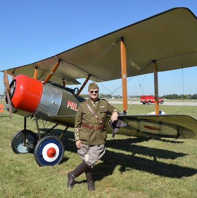 DAYTON, Ohio -- Twenty-one full-scale and 7/8-scale World War I aircraft will take to the skies this weekend (Sept. 27-28, 2014) during the Ninth WWI Dawn Patrol Rendezvous. (U.S. Air Force photo)