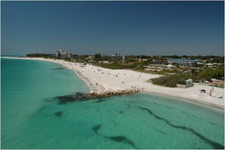 Lido Key Beach erosion