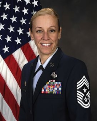 Chief Master Sgt. Linda Arnold