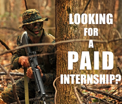 Marine corps offers cutting edge paid internship program to college students 4th marine corps - Officer training school marines ...